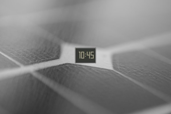 Hyouka Home Phone Clock Rainmeter Skin #2